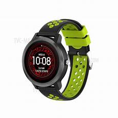 22mm Dual Color Silicone by 22mm Dual Colors Silicone Band For Garmin