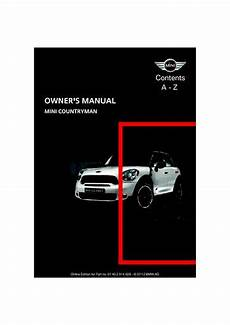 service repair manual free download 2011 mini countryman windshield wipe control 2012 mini countryman owner s manual pdf 201 pages