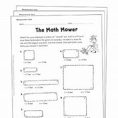 measuring perimeter worksheets grade 4 1812 area and perimeter grade 4 collection printable leveled learning collections