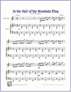 in the hall of the mountain king grieg free easy alto saxophone sheet music digital print