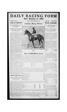 daily racing form n sunday may 28 1922 daily racing form free download borrow and