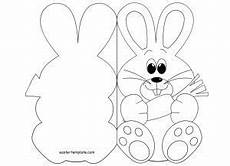 free printable easter pop up card templates easter bunny card template printables easter