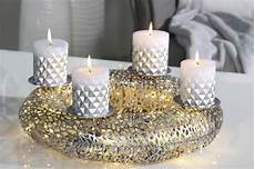 casablanca adventskranz purley advents kranz silber gold