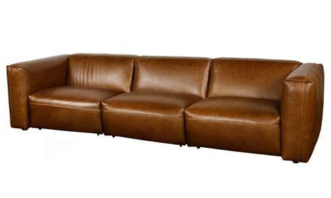 Brixton Xl 3 Seater Modular Leather
