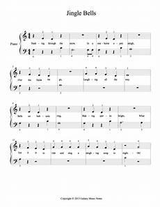 jingle bells piano sheet in entry level