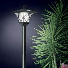 solar pole lights outdoor new ideaworks solar powered led yard l with 5 foot pole for outdoor lighting ebay