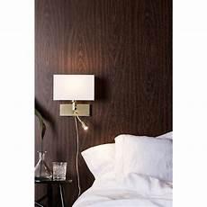 Applique Avec Liseuse Design E27 Savoy M 233 Tal Laiton Blanc