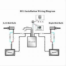 9007 Bulb Wiring Diagram by Xentec H4 Telescopic Bixenon Hi Lo 10000k Advanced Slim