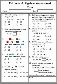 patterns and algebra worksheets pdf 22 patterns and algebra mathematics skills interactive activity lessons