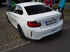 bmw m2 with akrapovic exhaust system video