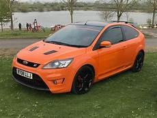 ford focus st 2 facelift 2 5 turbo orange 2008 in