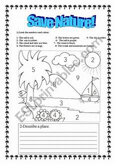 nature worksheets free 15085 save nature esl worksheet by arduini