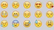 smileys emojis und emoticons gesichter und emotionen