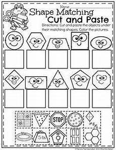 cut and paste motor skills worksheets 20651 pin on math