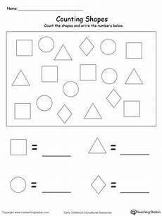 shapes and numbers worksheets for preschoolers 1207 early childhood numbers worksheets shape worksheets for preschool kindergarten math