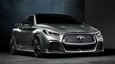 infiniti q60 black s the infiniti q60 black s concept is a 500 hp hybrid with f1 style kers