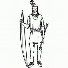 Ausmalbilder Indianer Mit Pfeil Und Bogen Indianer Mit Pfeil Und Bogen Stempel Motivstempel Bestellen