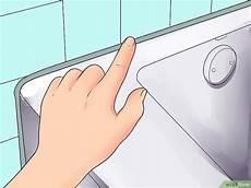 Waschbecken Und Badewannen Mit Silikon Abdichten Wikihow