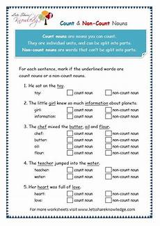 teaching count and noncount nouns lawteched literacy nouns worksheet worksheets grammar