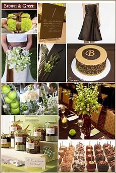 brown green white weddings a beautiful life