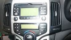 how to remove the factory radio from a hyundai i30