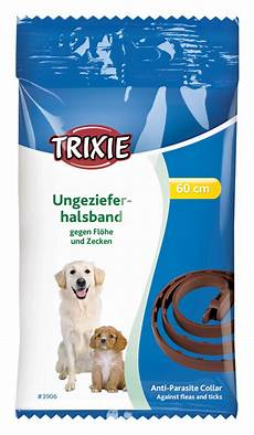 Trixie Ungeziefer Halsband F 252 R Hunde Ungezieferbek 228 Mpfung