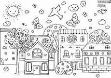 Ausmalbilder Haus Und Garten Malvorlagen Avec Ausmalbild Haus Innen Et Der Amarok 17