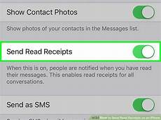 how to send read receipts on an iphone 10 steps with pictures
