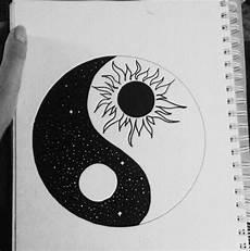 Malvorlagen Yin Yang Foto Ying Yang Pencil Drawings Doodle Easy Drawings