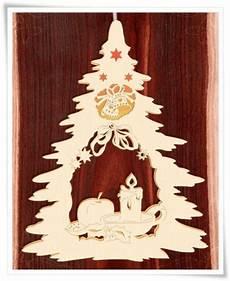 doppeltes fensterbild beleuchtet weihnachtsteller holz