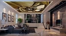 soggiorno di lusso 3d wallpaper living room ceiling ladder luxury wallpaper