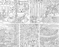 autumn charm 5 coloring pages printable coloring