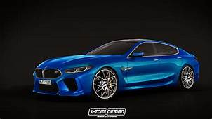 BMW M8 Gran Coupe Production Car Rendered Out For