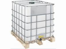 livraison palette eau citerne de recuperation d eau 1000l sur palette bois