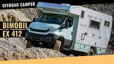 4x4 wohnmobil gebraucht bimobil cer ex 412 auf iveco daily 4x4 basis im test