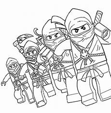 lego ninjago characters coloring pages printable