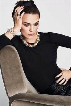 chanel in keira knightley s chanel jewelry caign instyle