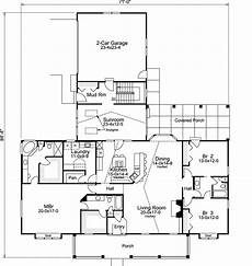 3 bedroom country house plans country house plan 3 bedrooms 3 bath 2800 sq ft plan
