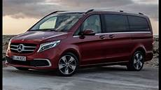 2020 mercedes v class facelift more power more luxury