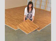 Faux Hardwood Floor Interlocking Foam Tiles (25 Pack)