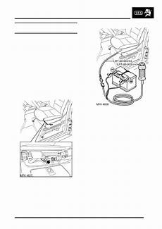 airbag deployment 2008 land rover discovery seat position control land rover workshop manuals gt discovery ii gt restraint systems gt repairs gt pre tensioner seat