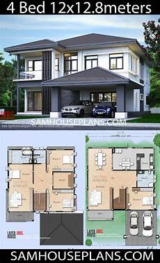 12x12 house plans house plans idea 12x12 8 m with 4 bedrooms ม ร ปภาพ