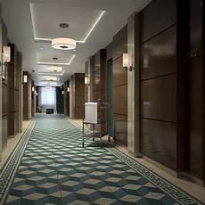 3d hotel corridor turbosquid 1215006