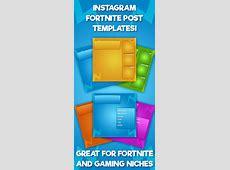 Fortnite Instagram Post Theme Template Pack   Social Media