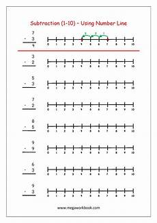 subtraction worksheets in math 10119 free printable number subtraction 1 10 worksheets kindergarten worksheets free printables