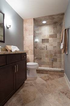 Zillow Bathroom Ideas by Contemporary 3 4 Bathroom With Ms International Barricato