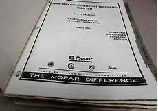 car repair manuals online free 1995 chrysler lhs instrument cluster 1998 1999 mopar chrysler concorde lhs 300m dodge intrepid parts catalog manual ebay