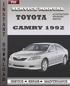car repair manuals online pdf 1992 toyota camry electronic toll collection toyota camry 1992 engine workshop repair manual repair service manual pdf