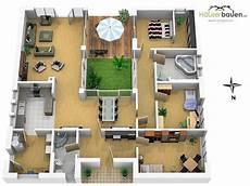 haus mit innenhof grundriss bungalow grundrisse bungalow bauen h 228 userbauen net