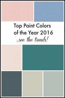 top paint colors of the year 2016 setting for four